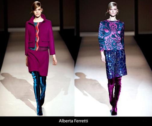 Модные фасоны платьев 2011-2012 года
