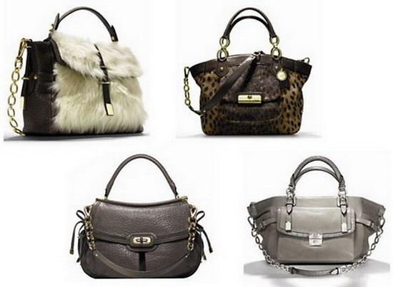 Модные сумки Coach 2012