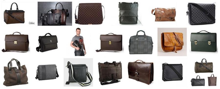 модные мужские сумки.