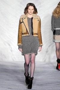 Женская куртка летчика (авиатора) 2012-1