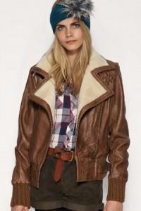 Женская куртка летчика (авиатора) 2012-3