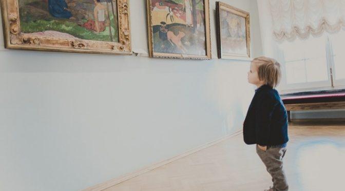 Как водить ребенка в музей