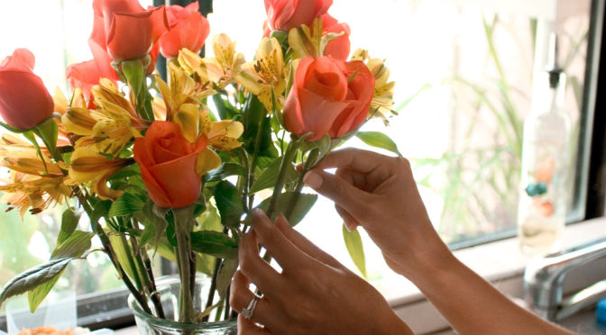 Долгая жизнь цветов в вазе