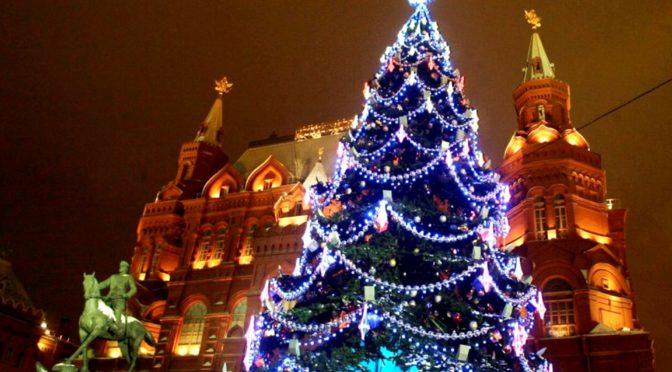 История елки в России