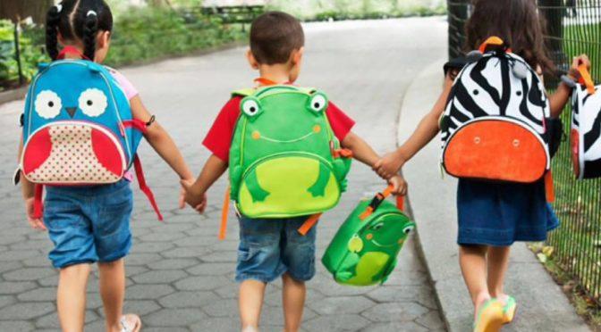 Выбираем рюкзак для дошкольника